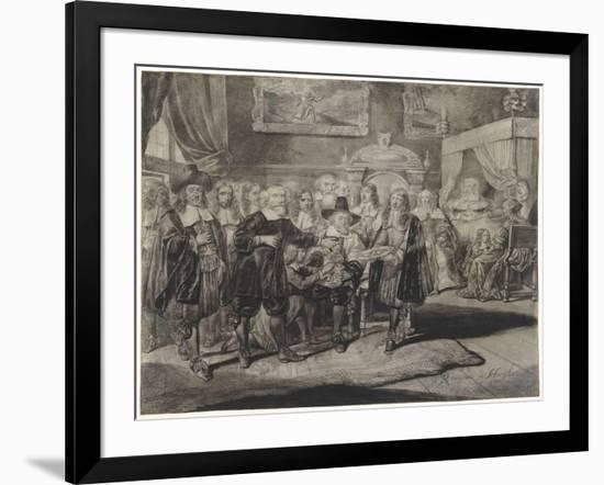 The Circumcision-Romeyn De Hooghe-Framed Giclee Print