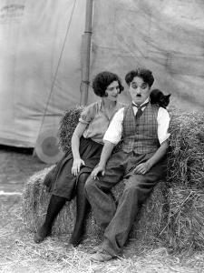 The Circus, Merna Kennedy And Charlie Chaplin, 1928