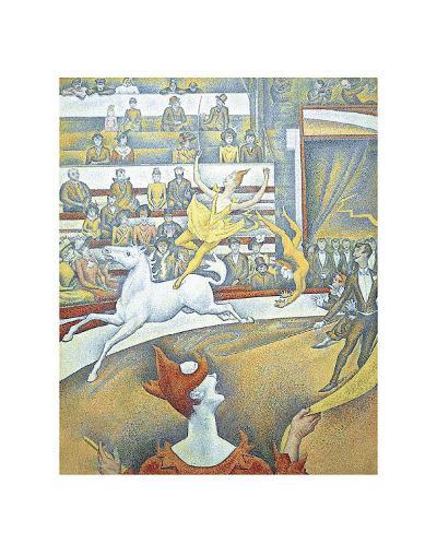 The Circus-Georges Seurat-Art Print