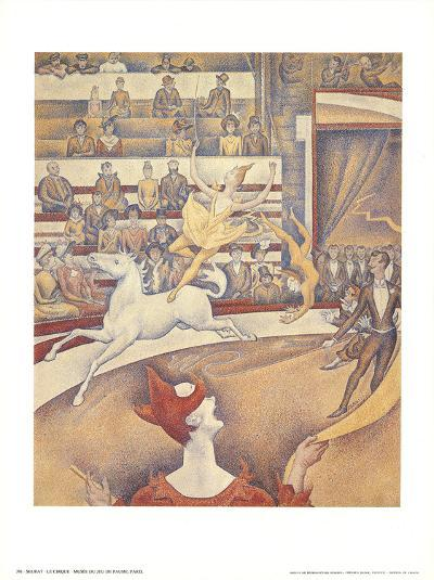 The Circus-Georges Seurat-Art Print