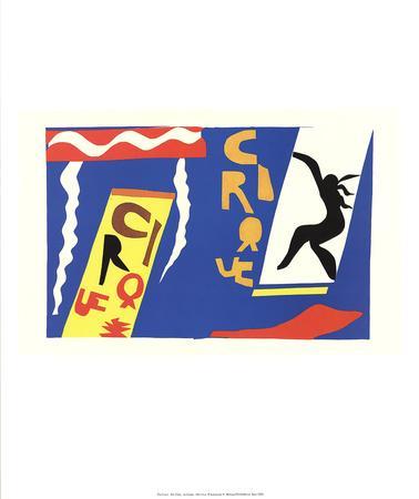 The Circus-Henri Matisse-Art Print