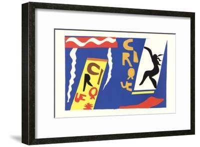 The Circus-Henri Matisse-Framed Art Print