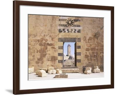 The Citadel, Aleppo, Unesco World Heritage Site, Syria, Middle East-Bruno Morandi-Framed Photographic Print
