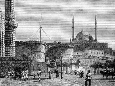 The Citadel, Cairo, Egypt, 1900--Giclee Print