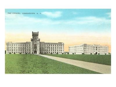 The Citadel, Charleston, South Carolina--Art Print
