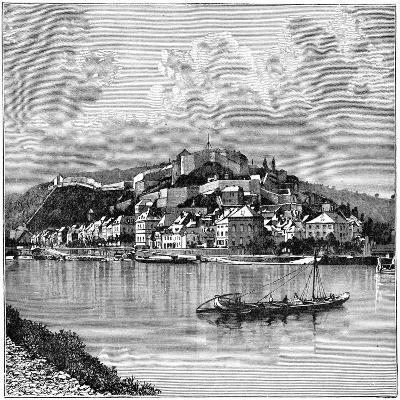 The Citadel of Namur, 1898--Giclee Print