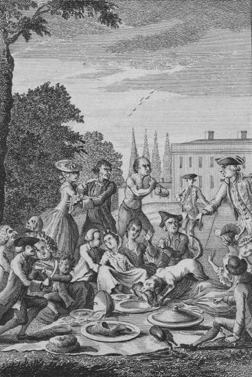 'The Citizens Fete Champetre', c1770-Unknown-Giclee Print
