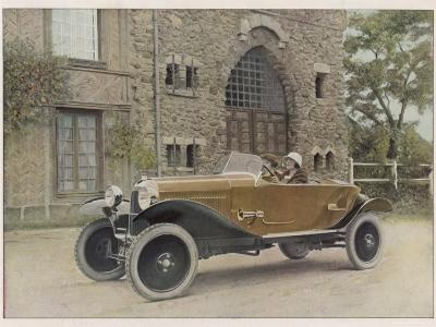 The Citroen Caddy of 12Hp is a Sporty Little Two-Seater for Summer Touring--Photographic Print