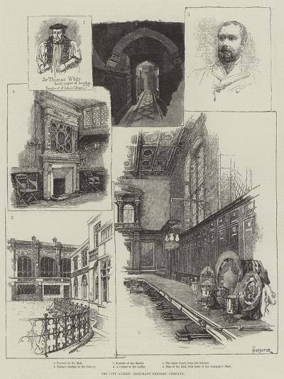 The City Guilds, Merchant Taylors' Company-Amedee Forestier-Giclee Print
