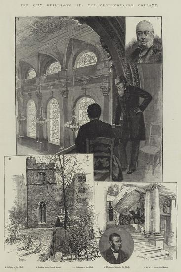 The City Guilds, the Clothworkers' Company-Amedee Forestier-Giclee Print