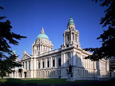 The City Hall in Belfast-Chris Hill-Photographic Print