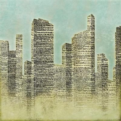 The City II--Premium Giclee Print