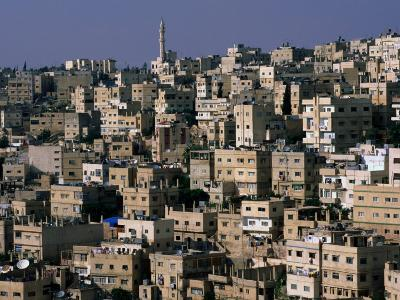 The City of Amman from the Citadel,Amman, Jordan-John Elk III-Photographic Print