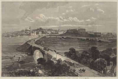 The City of Chester, View from the South Side--Giclee Print