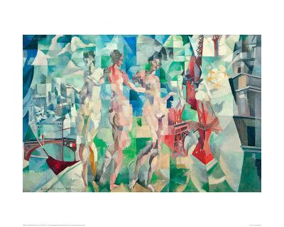 The City of Paris, 1910/12-Robert Delaunay-Giclee Print