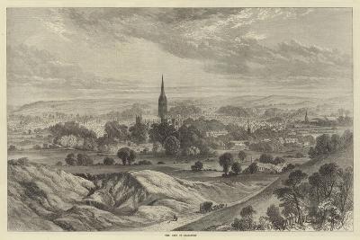 The City of Salisbury-Samuel Read-Giclee Print