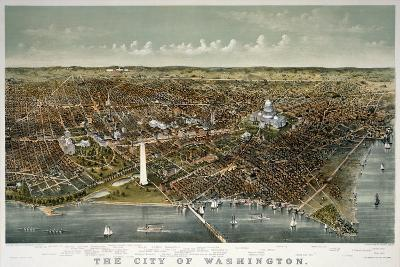 The City of Washington--Giclee Print