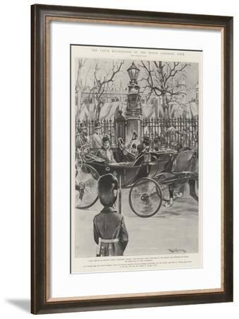 The City's Recognition of the Royal Colonial Tour-Ralph Cleaver-Framed Giclee Print
