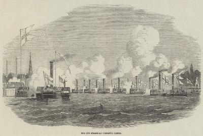 The City Steamboat Company's Vessels--Giclee Print