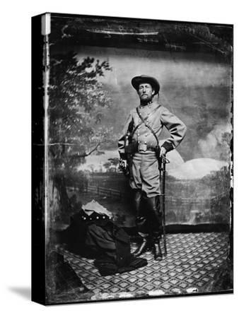 The Civil War, Colonel John S. Mosby, C.S.A., Richmond, Virginia, 1865