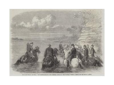 The Civil War in America, My Reconnaissance with General Sickles in the Potomac--Giclee Print