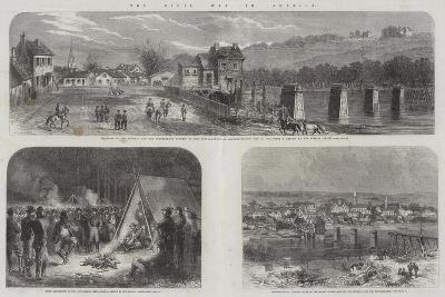 The Civil War in America--Giclee Print