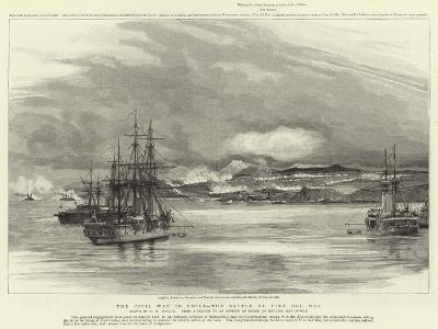 The Civil War in Chili, the Battle of Vina Del Mar-Charles William Wyllie-Giclee Print
