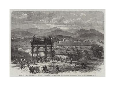 The Civil War in China-Edmund Morison Wimperis-Giclee Print