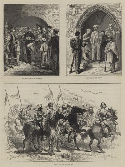 The Civil War in Spain-Charles Robinson-Giclee Print