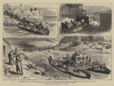 The Civil War in Spain-Godefroy Durand-Giclee Print
