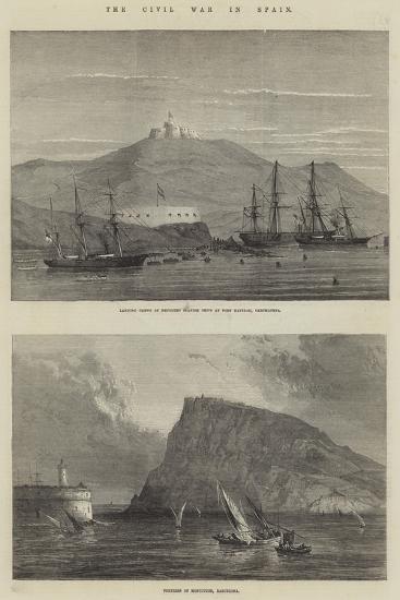 The Civil War in Spain--Giclee Print
