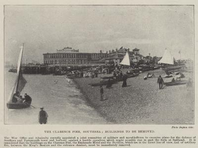The Clarence Pier, Southsea, Buildings to Be Removed--Giclee Print