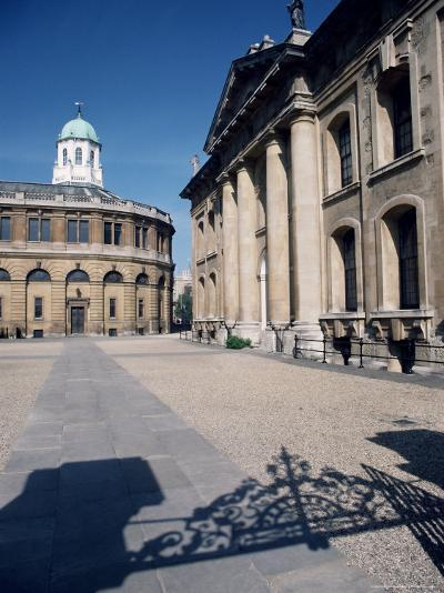 The Clarendon Building and Sheldonian Theatre, Oxford, Oxfordshire, England, UK, Europe-Ruth Tomlinson-Photographic Print