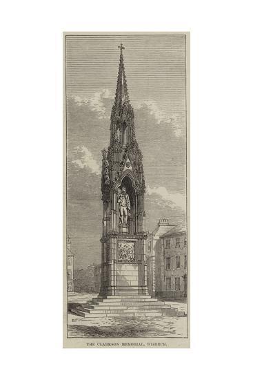 The Clarkson Memorial, Wisbech--Giclee Print