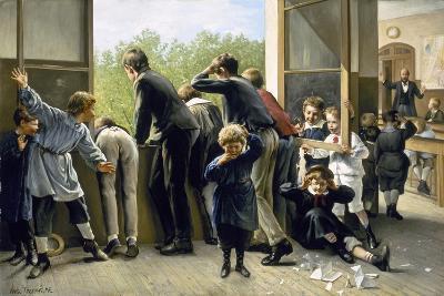 The Class Pranksters-Auguste Joseph Truphème-Giclee Print