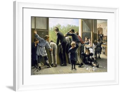 The Class Pranksters-Auguste Joseph Truphème-Framed Giclee Print