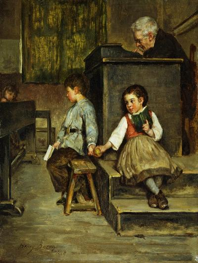 The Classroom-Henry Bacon-Giclee Print