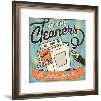 The Cleaners II-Pela Design-Framed Premium Giclee Print