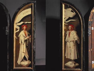 The Cleansing of Naaman Triptych-Cornelis Engelbrechtsen-Photographic Print