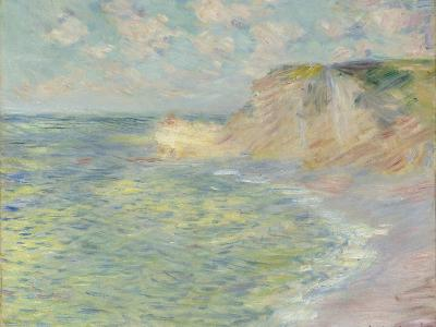 The Cliff Above, 1885-Claude Monet-Giclee Print