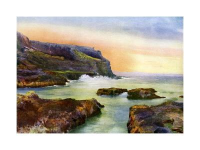 The Cliff, Castlerock, Londonderry, Northern Ireland, 1924-1926-MC Green-Giclee Print