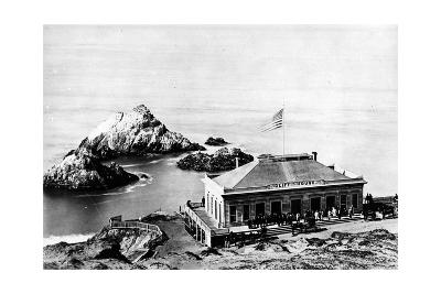 The Cliff House, San Francisco, C.1863-8--Photographic Print