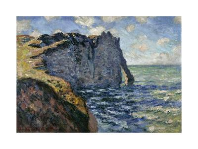 The Cliff of Aval, Etretat, 1885-Claude Monet-Giclee Print