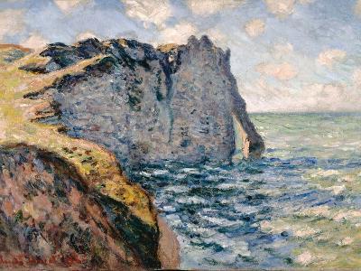 The Cliff of Aval, Etrétat, 1885-Claude Monet-Giclee Print