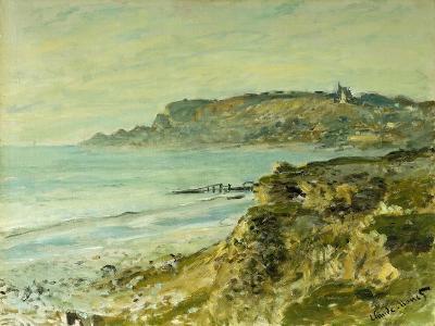 The Cliffs at Saint Adresse; La Falaise De Saint Adresse, 1873-Claude Monet-Giclee Print
