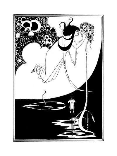 The Climax-Aubrey Beardsley-Giclee Print