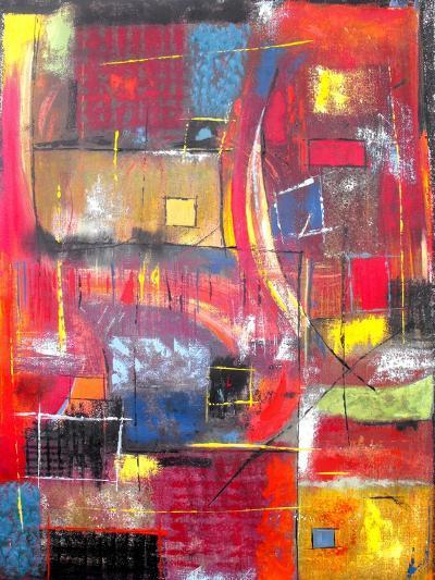 The Climb-Ruth Palmer-Art Print
