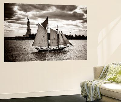 The Clipper and the Liberty-John Brooknam-Wall Mural
