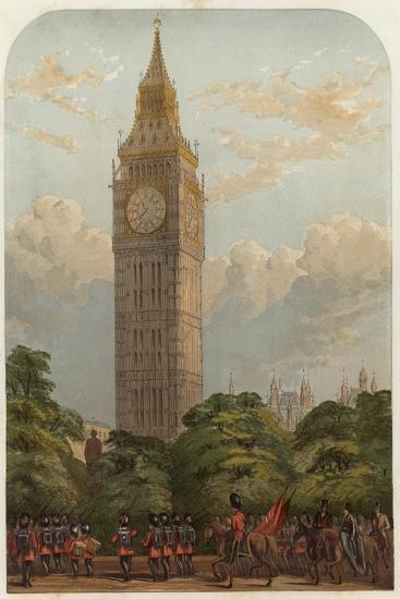 The Clock Tower--Giclee Print