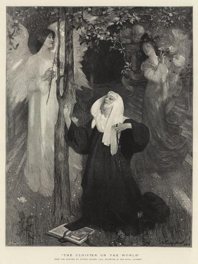 The Cloister or the World-Arthur Hacker-Giclee Print